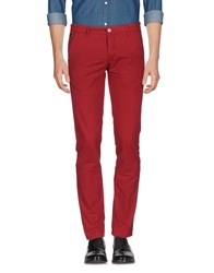 Ice Iceberg Casual Pants Maroon