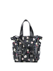 Zadig And Voltaire Bianca Floral Print Tote Black