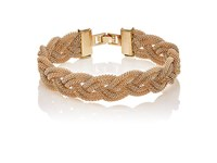 Kenneth Jay Lane Women's Braided Mesh Chain Bracelet No Color