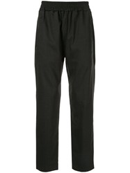 Represent Relaxed Trousers Black