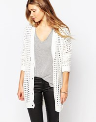 Blend She Stella Knit Cardigan Whisperwhite