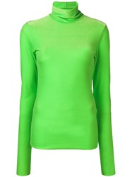 Marios Fitted Silhouette Sweater Green