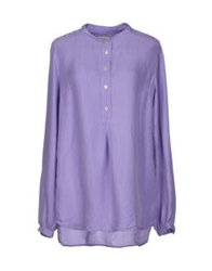 Mason's Blouses Light Purple
