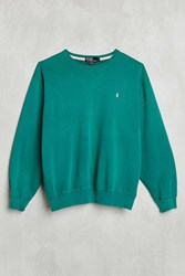 Urban Renewal Vintage Polo Green Sweatshirt Assorted