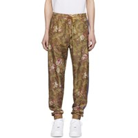 Han Kjobenhavn Brown Flower Track Pants