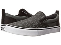 Skechers Star Wars Graphic Print Charcoal Black Men's Slip On Shoes