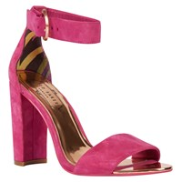Ted Baker Secoa Block Heeled Sandals Fuschia