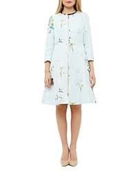 Ted Baker Spring Meadow Coat Baby Blue
