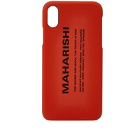 Mhi Maharishi Miltype Iphone X Case Orange