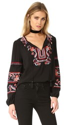 Parker Persimmon Blouse Black