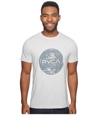 Rvca Motors Ink Tee Warm Grey Men's T Shirt Multi
