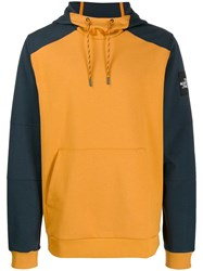 The North Face Hooded Sweatshirt Yellow