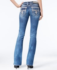 Rock Revival Pilkin Medium Blue Wash Bootcut Jeans