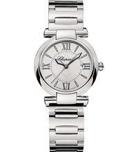 Chopard 388541 3002 Imperiale Stainless Steel Amethyst Watch