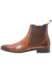 Melvin And Hamilton Toni 6 Boots Tan Eblue Cognac
