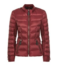Burberry Brit Browleigh Down Puffer Jacket Female Red