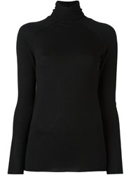 Haider Ackermann Turtle Neck Jumper Black