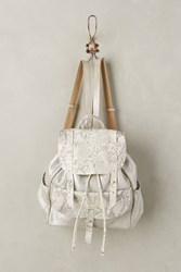 Anthropologie Jomeo Backpack Silver