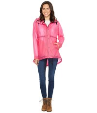 Hunter Original Vinyl Clear Smock Fuchsia Women's Coat Pink