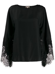 Gold Hawk Lace Sleeve Top 60