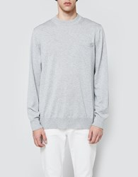 Sacai Oxford Shirting Pullover Gray