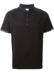 C.P. Company Cp Company Short Sleeved Polo Shirt Black