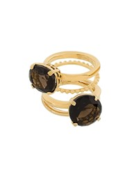 Wouters And Hendrix 'My Favourite' Ring Stacking Set Metallic
