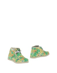 Le Crown Ankle Boots Yellow