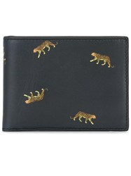 Paul Smith Ps By Tiger Print Wallet Black