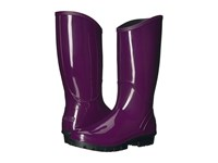 Columbia Rainey Tall Dark Raspberry Pebble Women's Rain Boots Purple