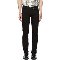 Givenchy Black Slim Fit 4G Jeans