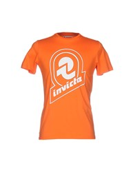 Invicta T Shirts Orange