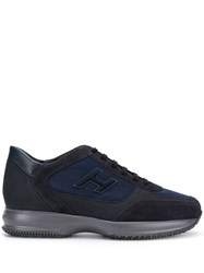 Hogan Man Interactive Sneakers Blue