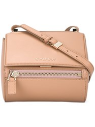 Givenchy Mini 'Pandora Box' Shoulder Bag Pink And Purple