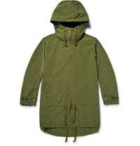 Remi Relief Shell Hooded Parka Green