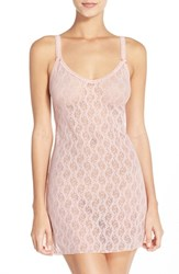 Women's B.Tempt'd By Wacoal 'Lace Kiss' Chemise Crystal Rose