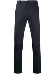 Paul Smith Ps Flower Embroidered Slim Fit Tailored Trousers 60