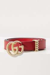 Gucci Gg Marmont Belt Red