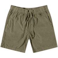 Save Khaki Wale Corduroy Easy Short Green