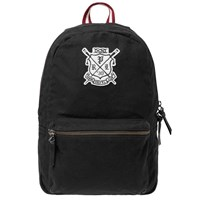 Polo Ralph Lauren Rowing Club Embroidered Backpack Black