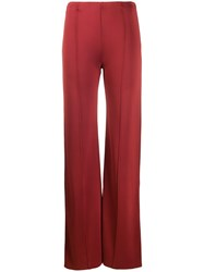 Valentino Piped Seams Flared Trousers 60