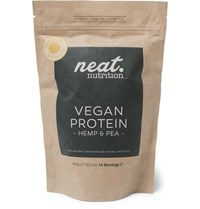 Neat Nutrition Hemp And Pea Vegan Protein Vanilla Flavour 500G Colorless