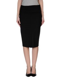 Adele Fado 3 4 Length Skirts Black