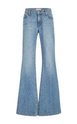 Derek Lam 10 Crosby Noha Sexy Flare Jean Light Wash