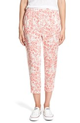 Women's Hinge Print Crop Pants
