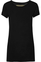 Enza Costa Stretch Jersey Tunic Black