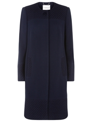 Windsmoor Textured Coat Navy
