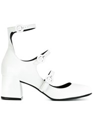 Mcq By Alexander Mcqueen Mary Jane Pumps White