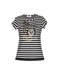 Clips More Topwear T Shirts Women Black