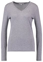 Lacoste Jumper Chine Platinum Grey